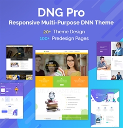 DNG Pro-Unlimited Responsive Multi-Purpose DNN Theme