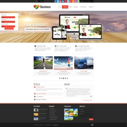 SP20036 CSS3 HTML5 Unlimited Colors Responsive Skin Pack 022 3DGallery Blog PageTemplate