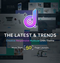 DNG-Unlimited Responsive Multi-Purpose DNN Theme