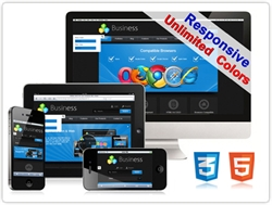 SP20033 CSS3 HTML5 Unlimited Colors Responsive Skin Pack 019 3D Gallery/Social/Blog (DNN5/6/7)