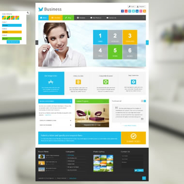 SP20037 CSS3 HTML5 Unlimited Colors Responsive Skin Pack 023