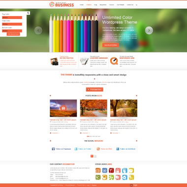 SP20038 CSS3 HTML5 Unlimited Colors Responsive Skin Pack 024