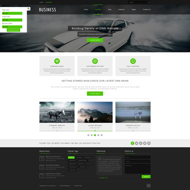 SP20041 CSS3 HTML5 Unlimited Colors Responsive Skin Pack 027