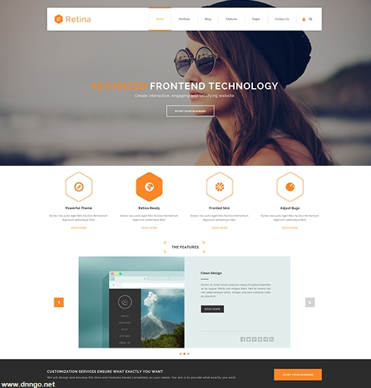SP20070 Unlimited Responsive Multi-Purpose DNN Theme