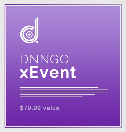 MD90105-DNNGo.xEvent (25% off)