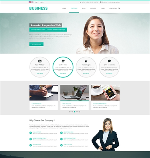 SP20043 Unlimited Responsive Multi-Purpose DNN Theme