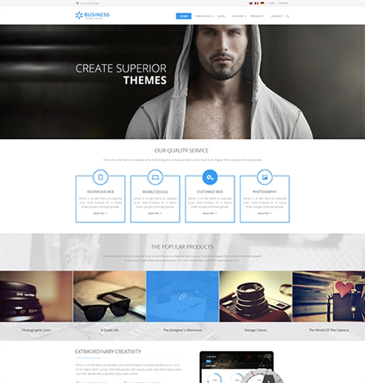 SP20063 Unlimited Responsive Multi-Purpose DNN Theme