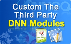CS80011-Customize The Third Party DNN modules (per hour)