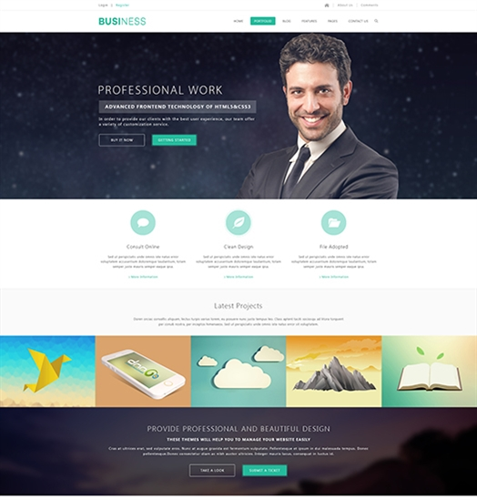 SP20061 Unlimited Responsive Multi-Purpose DNN Theme