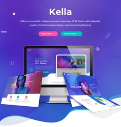 Kella-Unlimited Responsive Multi-Purpose DNN Theme