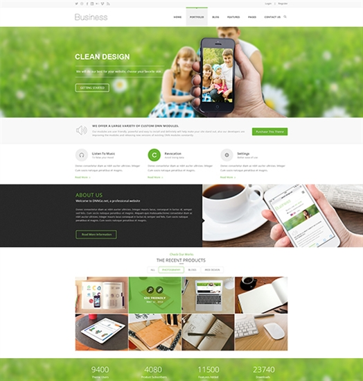 SP20047 Unlimited Responsive Multi-Purpose DNN Theme