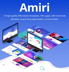 Amiri-Unlimited Responsive Multi-Purpose DNN Theme